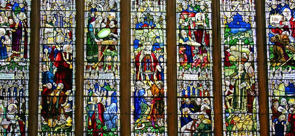The St Germain Window: North Transept